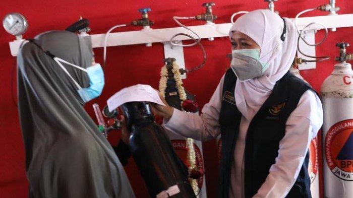 Tempat Isi Ulang Oksigen Gratis Dibuka di Sidoarjo Untuk Warga Isoman Covid-19