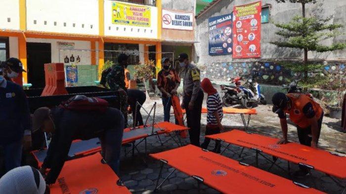Pemdes Junrejo Batu Bangun Shelter Penanganan Covid-19 Mandiri