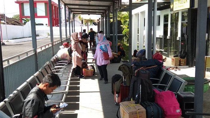 Sebanyak 62 Ribu Penumpang Padati Stasiun Blitar Selama Angkutan Lebaran 2019