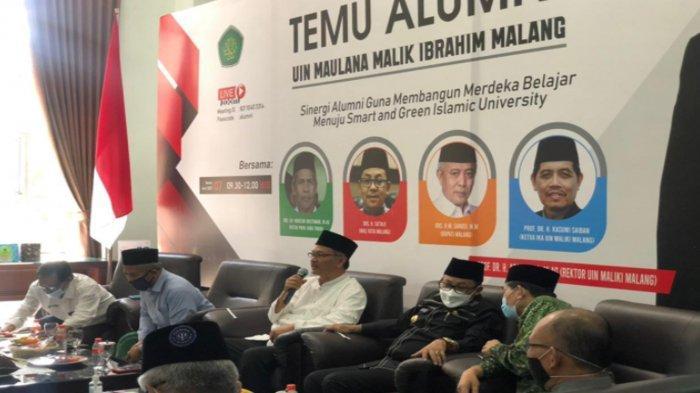 Program Merdeka Belajar Perlu Dukungan Alumni UIN Maliki Malang