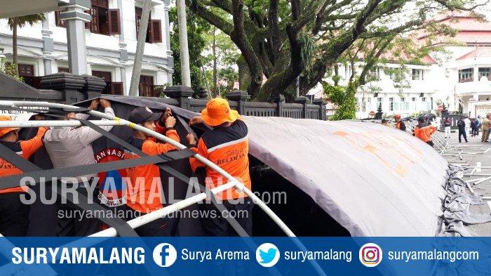 Apel Siaga Bencana, Sepekan Hampir Tiap Hari Kota Malang Digempur Bencana Akibat Hujan