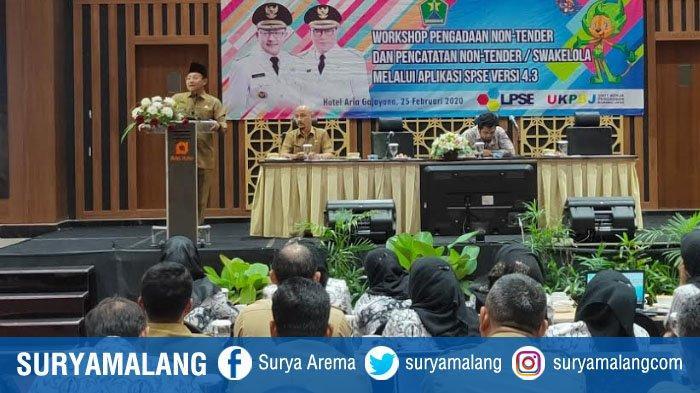 Wali Kota Malang, Sutiaji Perbolehkan Kolega ASN Ikut Tender Asal Sesuai Ketentuan