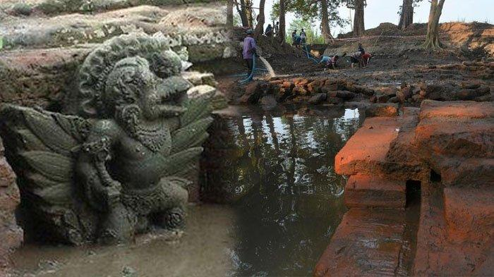Tengkorak Manusia Ditemukan di Kolam Era Majapahit di Dusun Sumberbeji Jombang, Ini 5 Faktanya