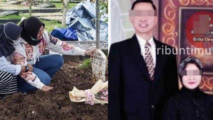 FAKTA-FAKTA Viral Kematian Anak Erlita Dewi, Makam Si Sulung di Sidoarjo Dibongkar, Jenazah Diotopsi