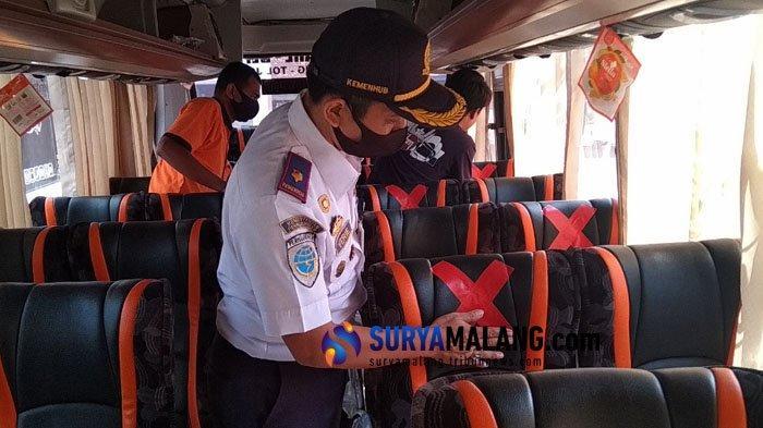 Bus Blitar-Surabaya di Terminal Patria Mulai Beroperasi, Penumpang Dibatasi Separuh