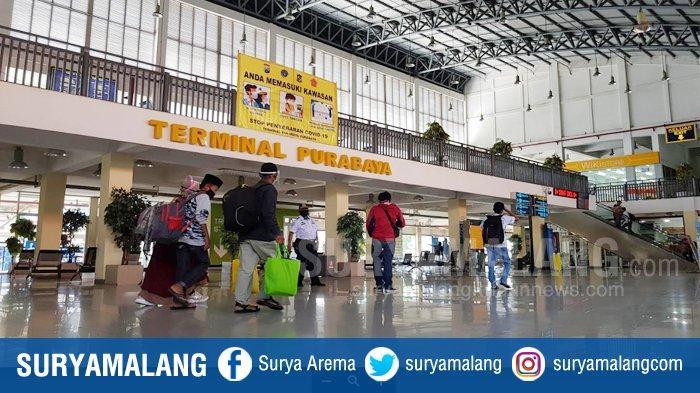 VIDEO : Suasana Terminal Purabaya Bungurasih Sepi Pemudik Idul Adha HIngga H-4 Tahun Ini