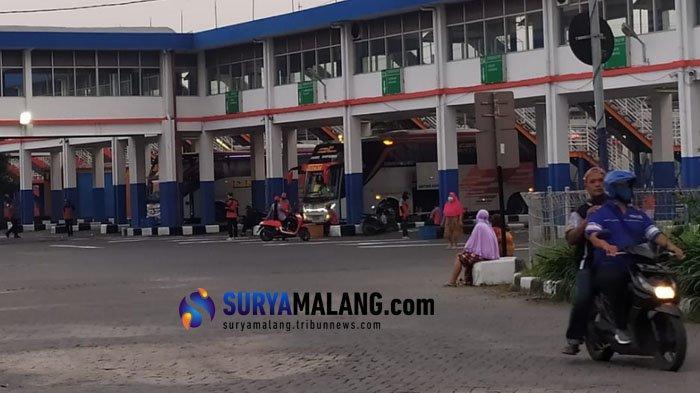 Penumpang Tanpa Masker Dilarang Masuk Terminal Purabaya, Sidoarjo