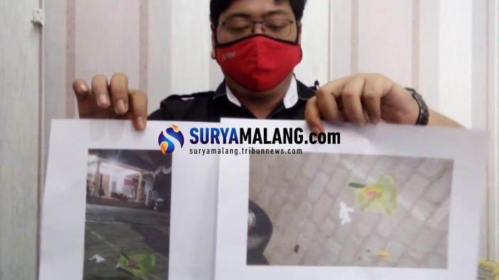 Terekam CCTV, Polisi Dalami Motif Teror Kiriman Bunga dan Boneka di Kantor KPU Kota Blitar
