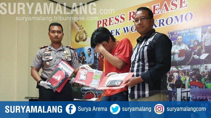 Akhir Pelarian Jambret Asal Sidoarjo yang Biasa Beraksi di Sekitar Taman Bungkul, Surabaya