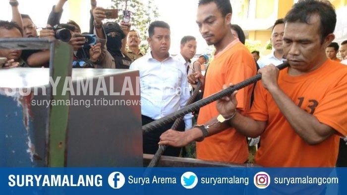 Usai Mencuri Uang Rp 506 Juta di SMK Mojokerto, Komplotan Pembobol Ini Sembunyi di Vila Magelang