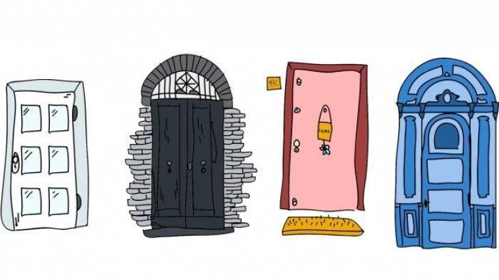 Tes Kepribadian Psikologi - Ungkap Pikiran Bawah Sadarmu Lewat Pilihanmu Membuka Pintu