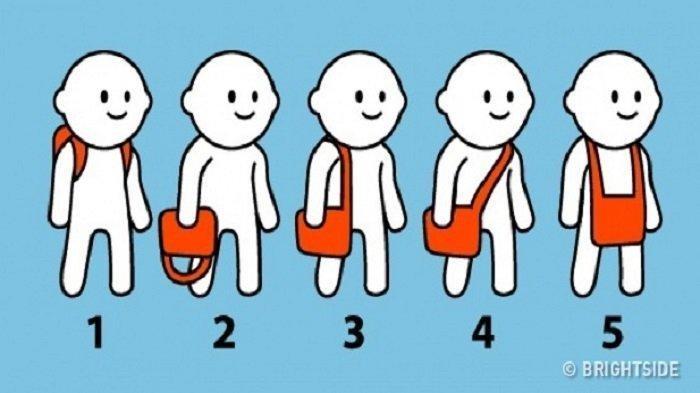 Tes Kepribadian - Caramu Memakai Tas Ungkap Kepribadianmu yang Sesungguhnya