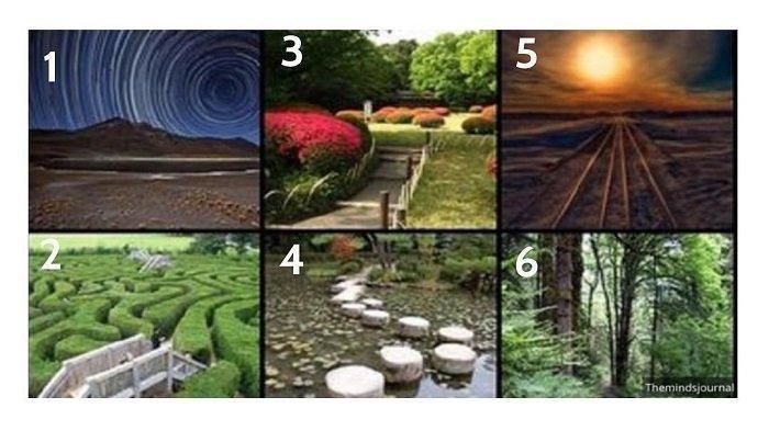 Tes Kepribadian Psikologi - Gambar Jalan yang Kamu Tempuh Menunjukan Filosofi Hidupmu