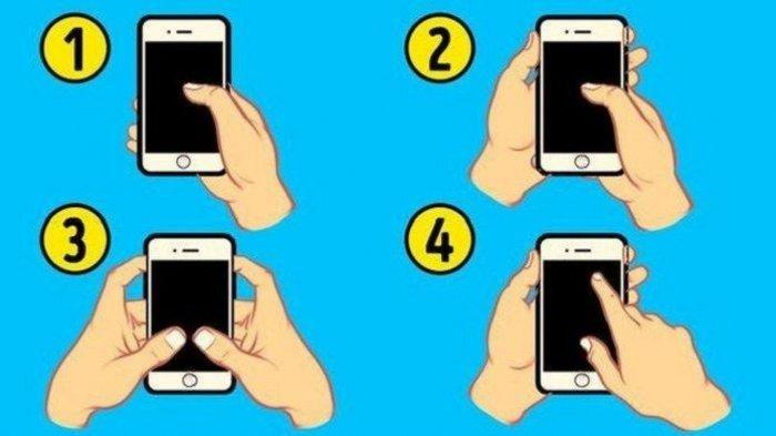 Tes Kepribadian: Sifat Seseorang Bisa Dilihat dari Caranya Memegang Handphone, Kamu yang Mana?