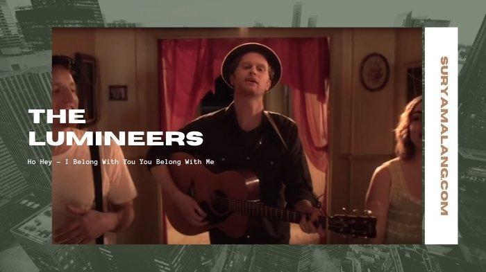 Lirik Lagu I Belong With You You Belong With Me dan Terjemahannya - Ho Hey, The Lumineers