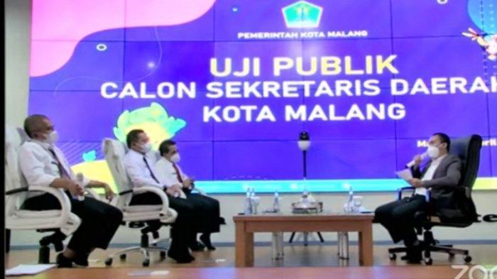 Adu Strategi Bakal Calon Sekda Kota Malang dalam Uji Publik