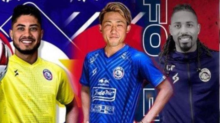 Demi Gaji Tambahan, Tiga Pemain Asing Arema FC Harus Rela Melakoni 'Kerja Sampingan' dari Juragan 99
