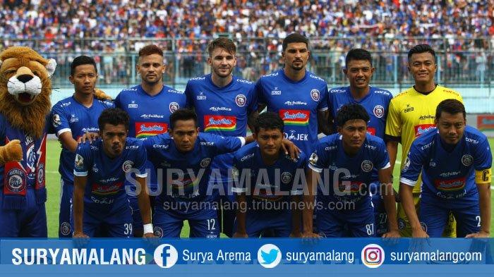 Persita Tangerang Vs Arema FC, Empat Pemain Arema Absen di Laga Leg Kedua Piala Indonesia 2018 Itu