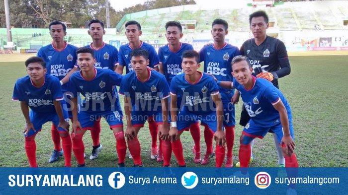 Tim Arema Indonesia yang berlaga di ajang Liga 3 Nusantara 2019