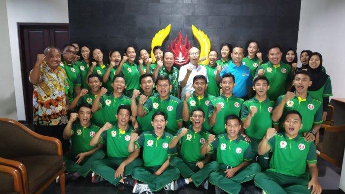 Tim Bola Tangan Jatim Optimis Penuhi Target KONI Jatim sebagai Finalis Pra PON 2019