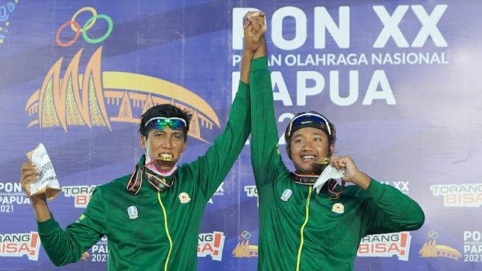 Tim Voli Pantai Putra Jatim I Raih Emas PON XX Papua, Tim Putri Raih Perunggu