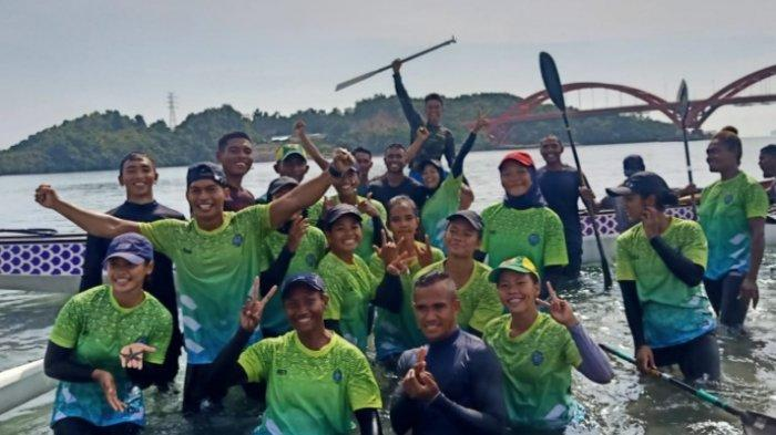 Jelang PON XX, Tim Dayung Jatim Alami Beberapa Kendala Selama Latihan di Papua