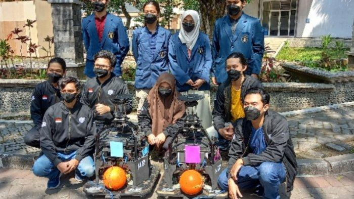Hadapi Ajang Kontes Robot Indonesia, UB Kirim Lima Tim Divisi