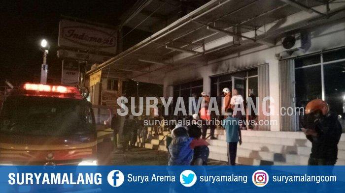 Indomaret di Desa Pesanggrahan Kota Batu Terbakar, Aset Senilai Rp 90 Juta Amblas