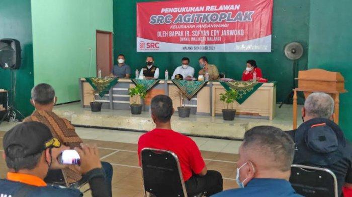Wakil Wali Kota Malang Sofyan Edi Jarwoko Kukuhkan Tim Relawan Covid-19 Kelurahan Pandanwangi