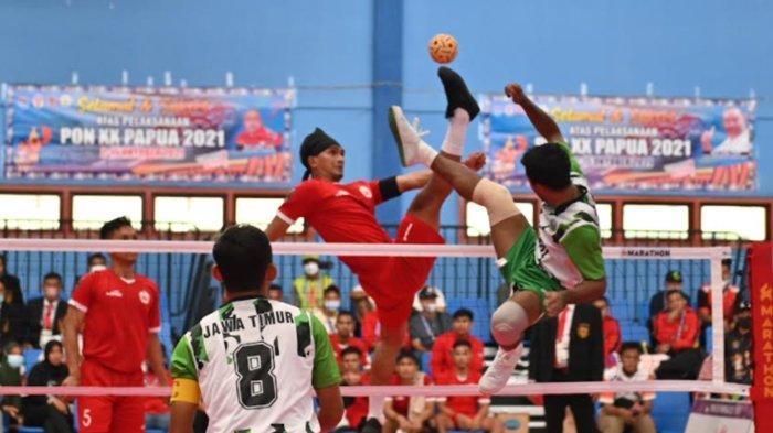 Tim Takraw Jatim Berpeluang Sumbang Medali Emas Pertama untuk Jawa Timur di PON XX Papua 2021