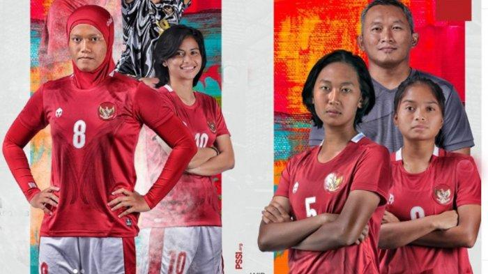 Link Live Streaming Pertandingan Timnas Indonesia Putri Vs Singapura Malam Ini Jam 20.00 WIB
