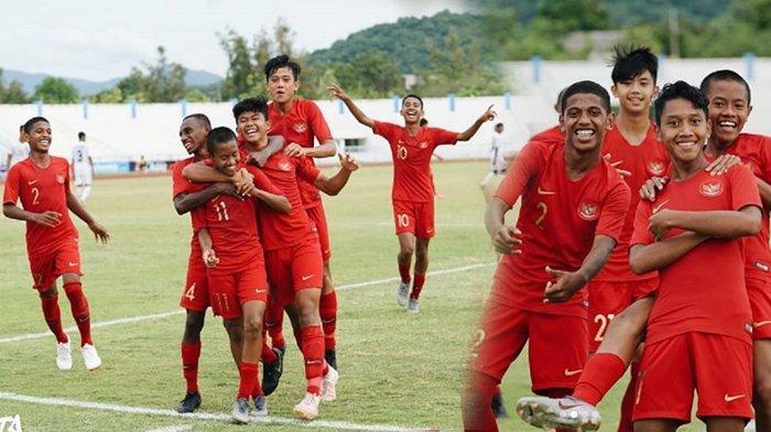 Bukan Malaysia, Timnas U-15 Indonesia Vs Thailand di Babak Semifinal Piala AFF U-15 2019, Rabu