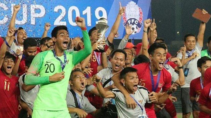 Timnas U-22 Indonesia Tak Hanya Juara Piala AFF U-22 2019, Juga Borong Rekor dan Penghargaan Ini
