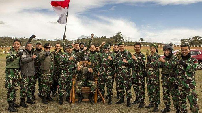 TNI AD dalam lomba bertajuk Australian Army of Skill Arms at Meeting (AASAM).