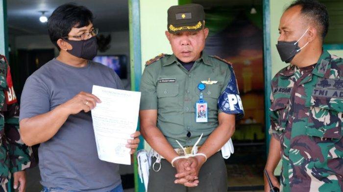 TNI Gadungan Palak Warga Kota Batu Langsung Ditangkap Anggota Polres dan Koramil 0818/02 Batu