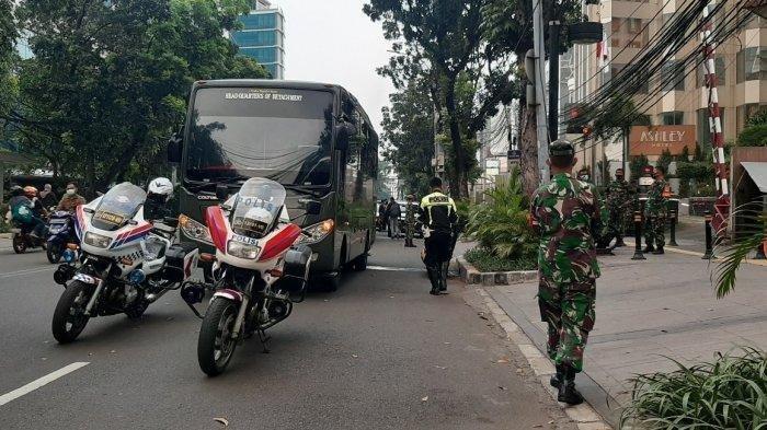 Negerinya Dihantam Tsunami Covid-19, Puluhan Warga India Diduga Bikin Ricuh di Menteng Jakarta Pusat
