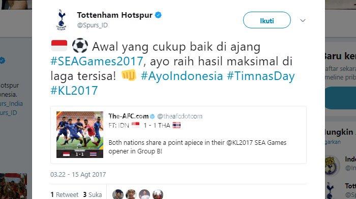 Tak Hanya Warga Indonesia, Klub Liga Inggris Ini Juga Beri Apresiasi Untuk Timnas Indonesia U-22