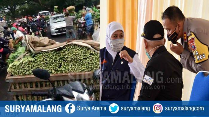 Tragedi Pedagang Sayur di Malang Disayangkan Gubernur Jatim Khofifah, Pemkab Diminta Fasilitasi