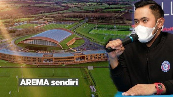 Bos Juragan 99  yang juga presiden Arema FC akan membangun training ground dalam waktu dekat di lahan seluas 10 hektar