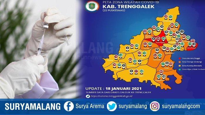 Trenggalek Zona Merah, Angka Kematian di Durenan Tertinggi di Antara 4 Kecamatan Paling Berisiko