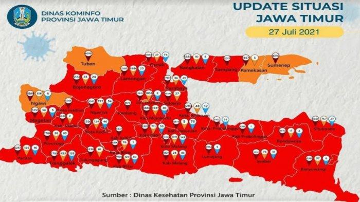 Tuban Jadi Zona Orange Sebaran Covid-19, Satgas Beberkan Indikator Keberhasilan
