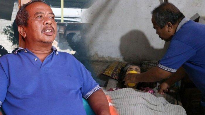 Tukang Sepatu di Jombang Rawat Istri Lumpuh hingga Meninggal Selama 19 Tahun, Ternyata Anaknya Juga