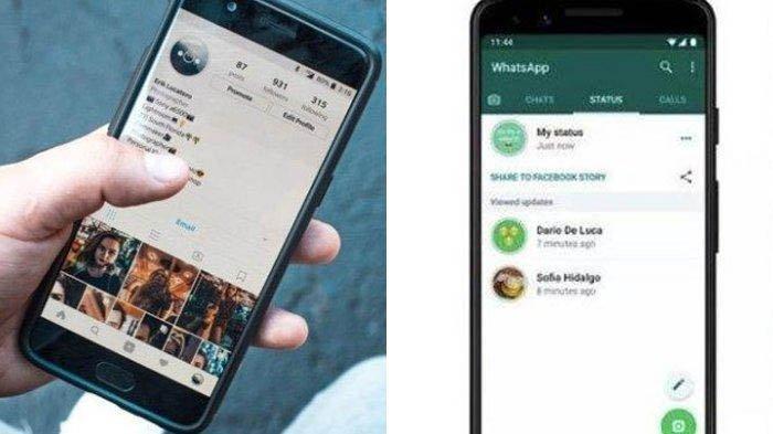 Tutorial Cara Download Status dari Story WhatsApp dan Instagram, Mudah & Tak Perlu Aplikasi Tambahan