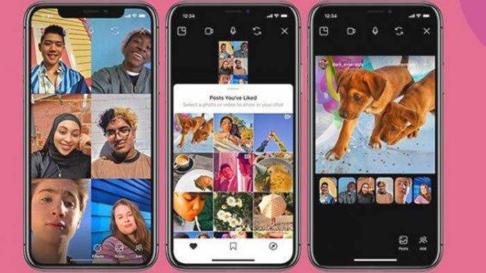Tutorial Cara Menggunakan Fitur Video Call Baru dari Instagram, Bisa Diakses untuk 6 Orang Sekaligus