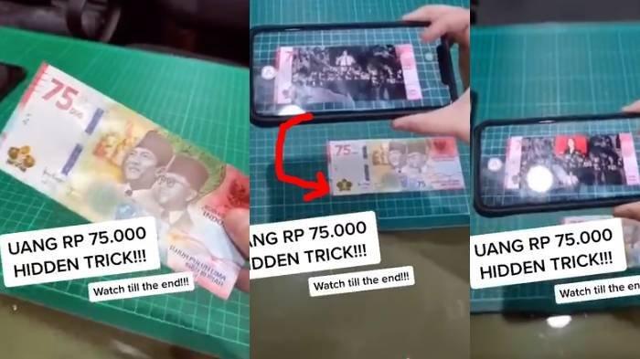 Viral Uang Rp 75 Ribu Bisa Nyanyi Indonesia Raya, BI Beri ...