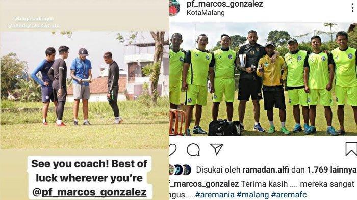 Para Pemain Singo Edan Ucapkan Selamat Tinggal kepada Marcos Gonzales