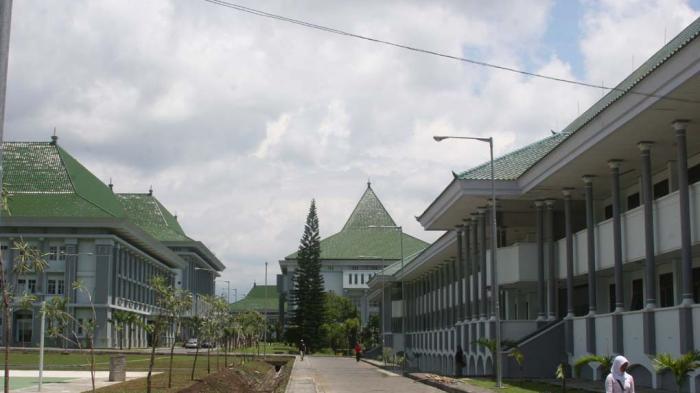 Kampus UIN Maulana Malik Ibrahin Malang.