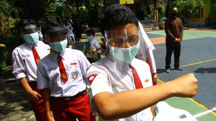 Sejumlah SD di Kota Malang Lakukan Uji Coba Pembelajaran Tatap Muka