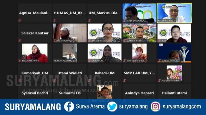 Universitas Negeri Malang Tingkatkan Kerjasama Dengan Thailand