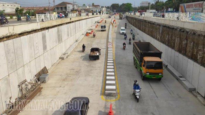 Underpass Karanglo Rampung pada Pertengahan Agustus 2019